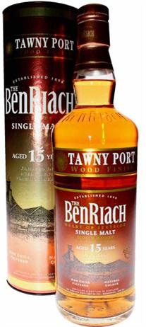 Benriach Scotch Single Malt 15 Year Tawny Port Wood Finish